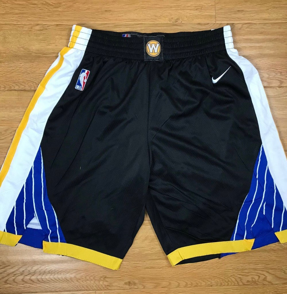 "Image of Golden state warriors ""swingman shorts"""