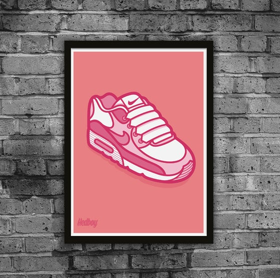 Image of AIR TIME! LIMITED EDITION PRINT WITH FREE MYSTERY STICKER!