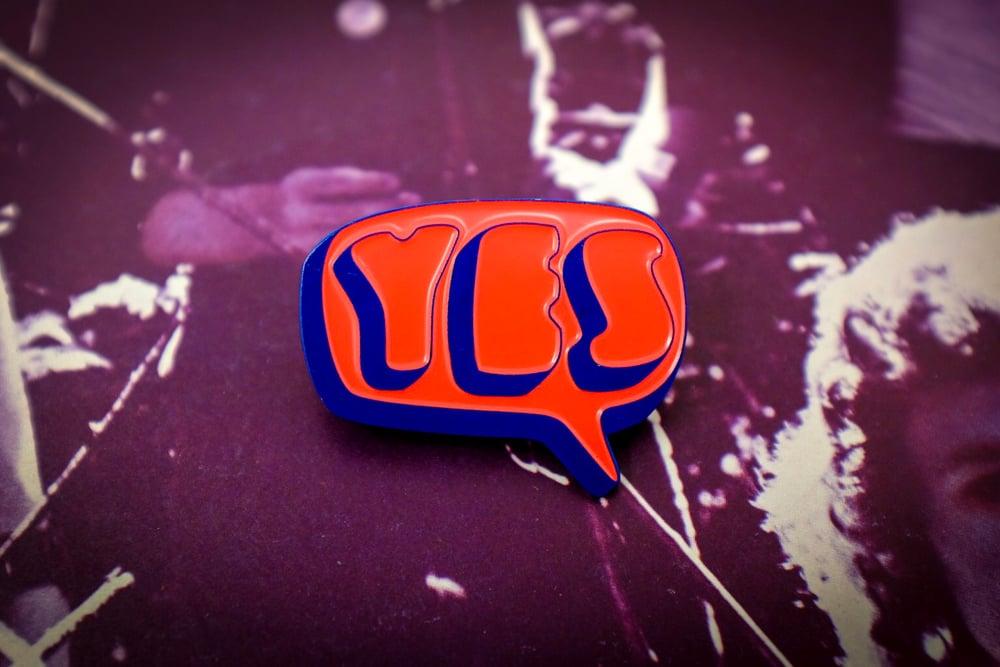 Image of Yes 1st Album Logo Enamel Pin