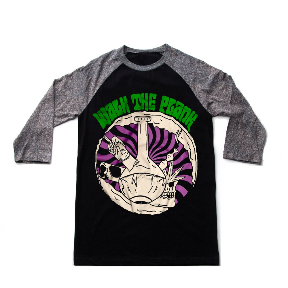 Image of Psychedelic Bong Baseball Tee NEW!