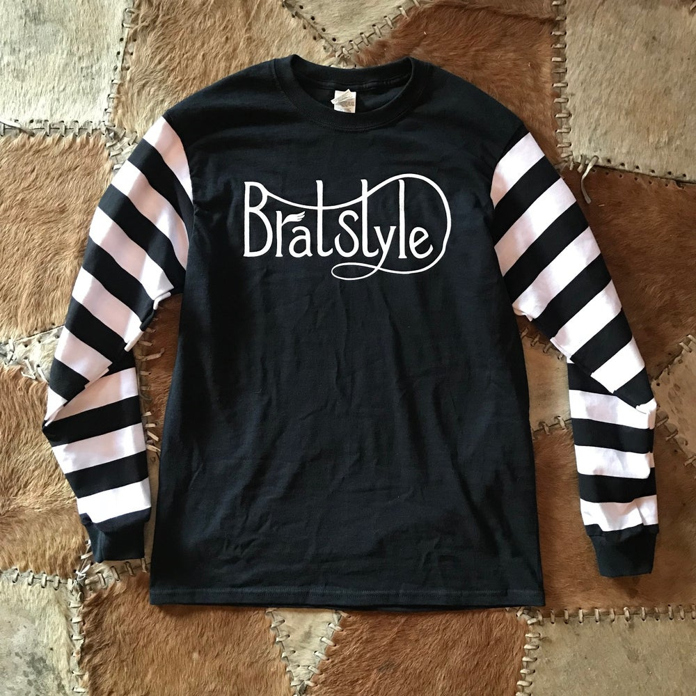 Image of Hell On Wheels×BRATSTYLE  CUSTOM JAILBIRD JERSEY