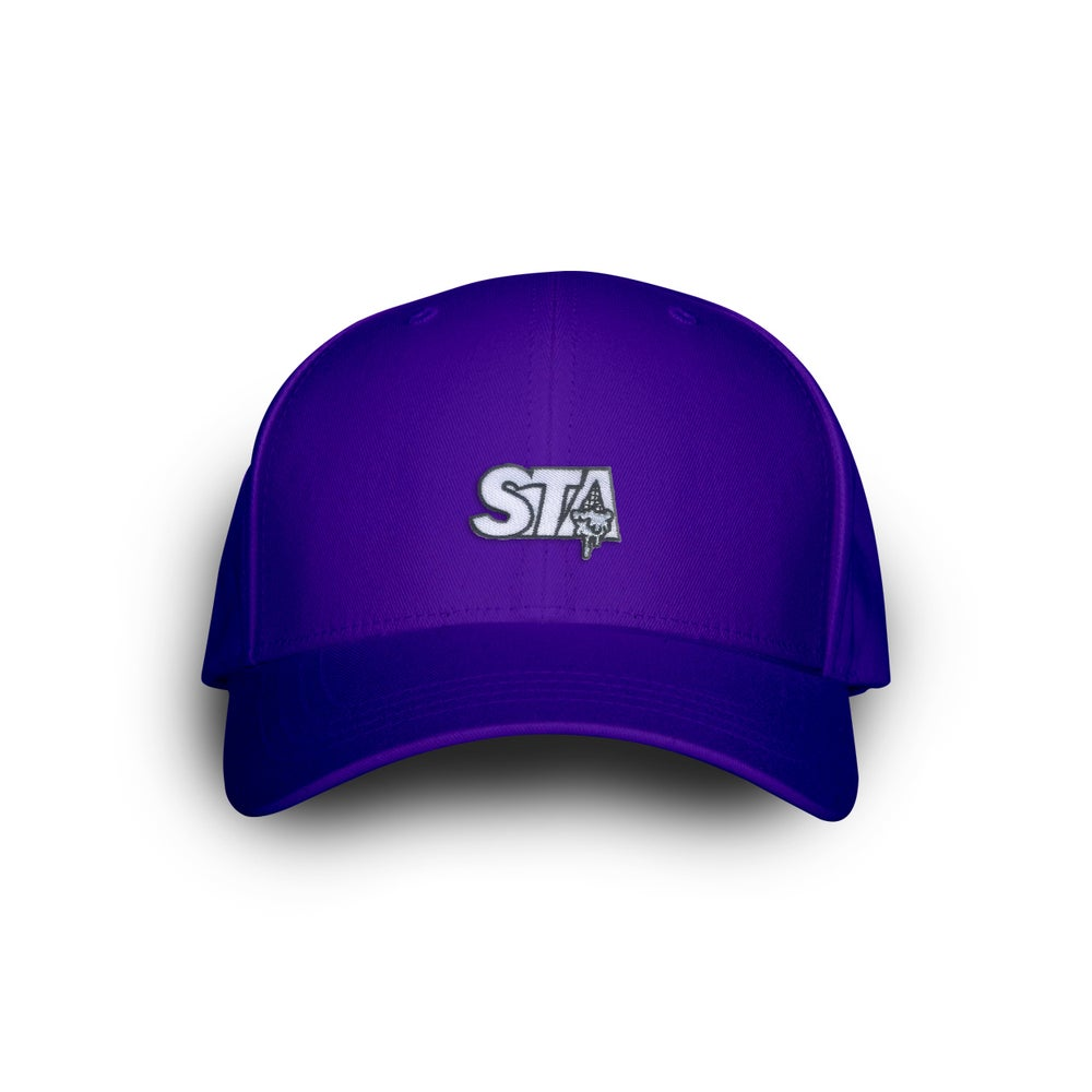 Image of STA Drip Purple Dad Cap