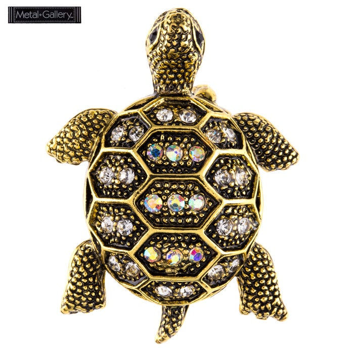 Image of ANTIQUE TURTLE BROOCH