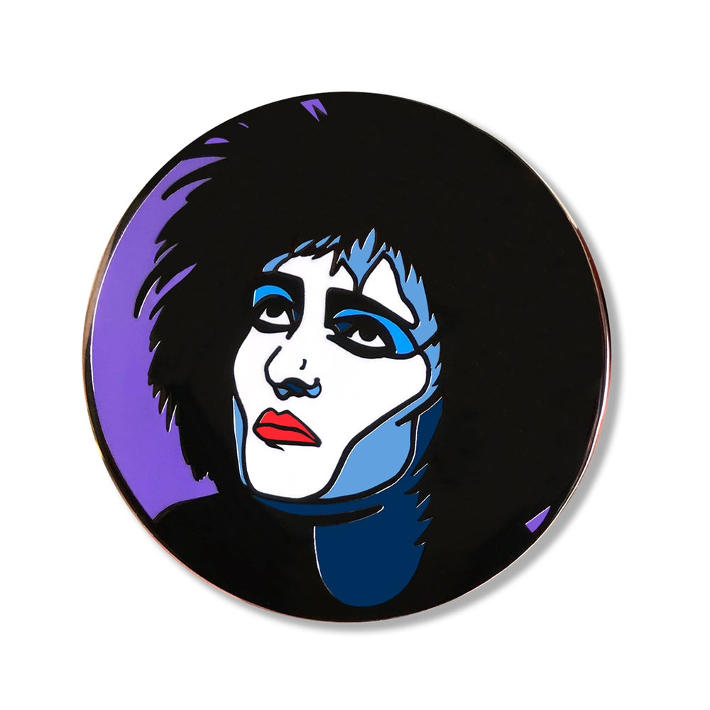 Siouxsie Sioux Enamel Pin