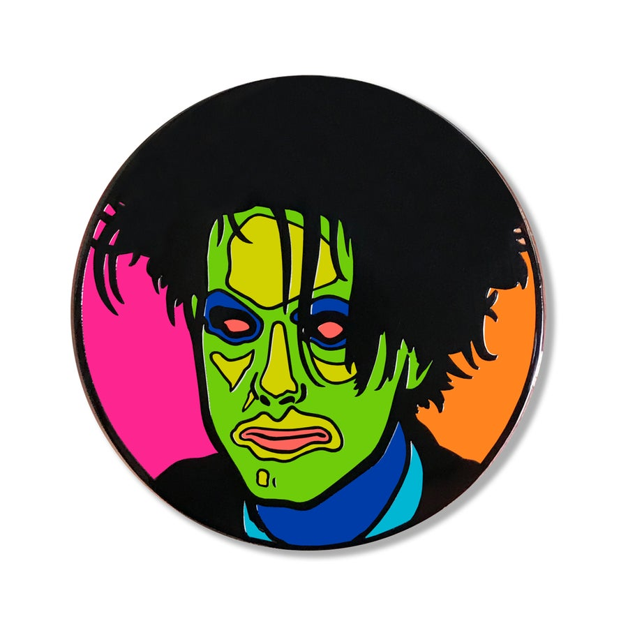 "Image of Robert Smith Enamel Pin  – ""In Between Days"" Edition"
