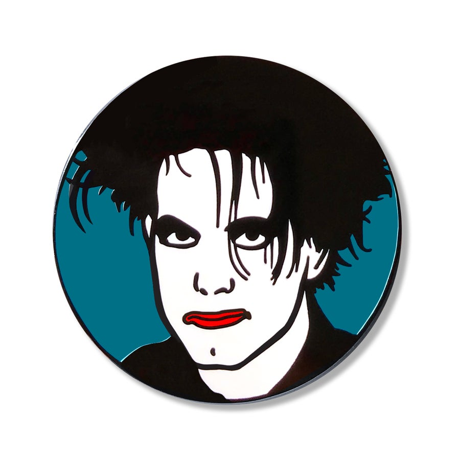 Image of Robert Smith Enamel Pin