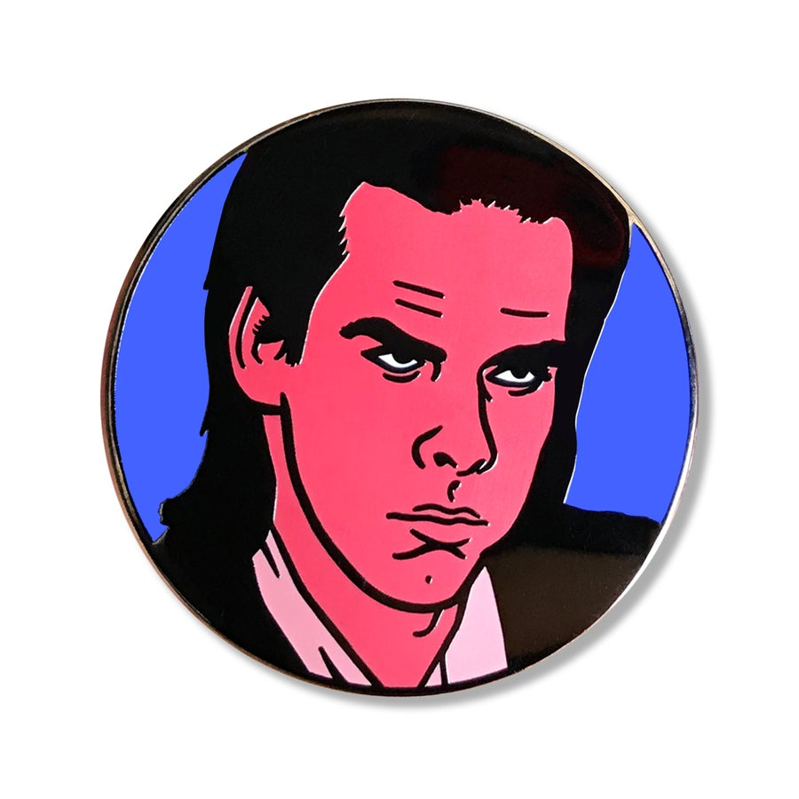 Image of Nick Cave Enamel Pin