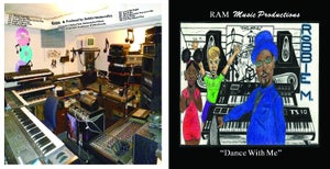 Image of Robbie M Dance With Me CD
