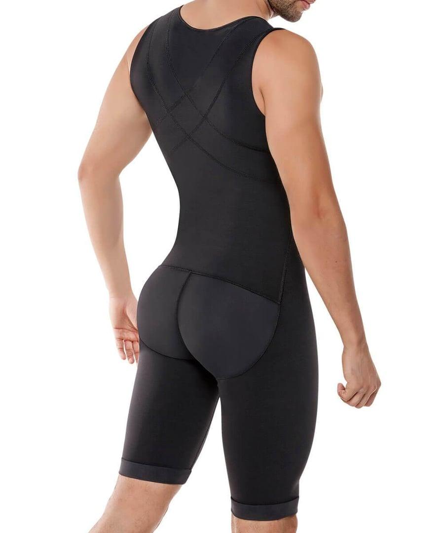 Image of 298 -Enterizo Control de Abdomen y Espalda / Men's Abdomen and Legs Control Bodysuit