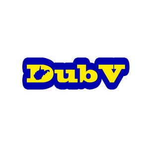 Image of DubV D State Sticker
