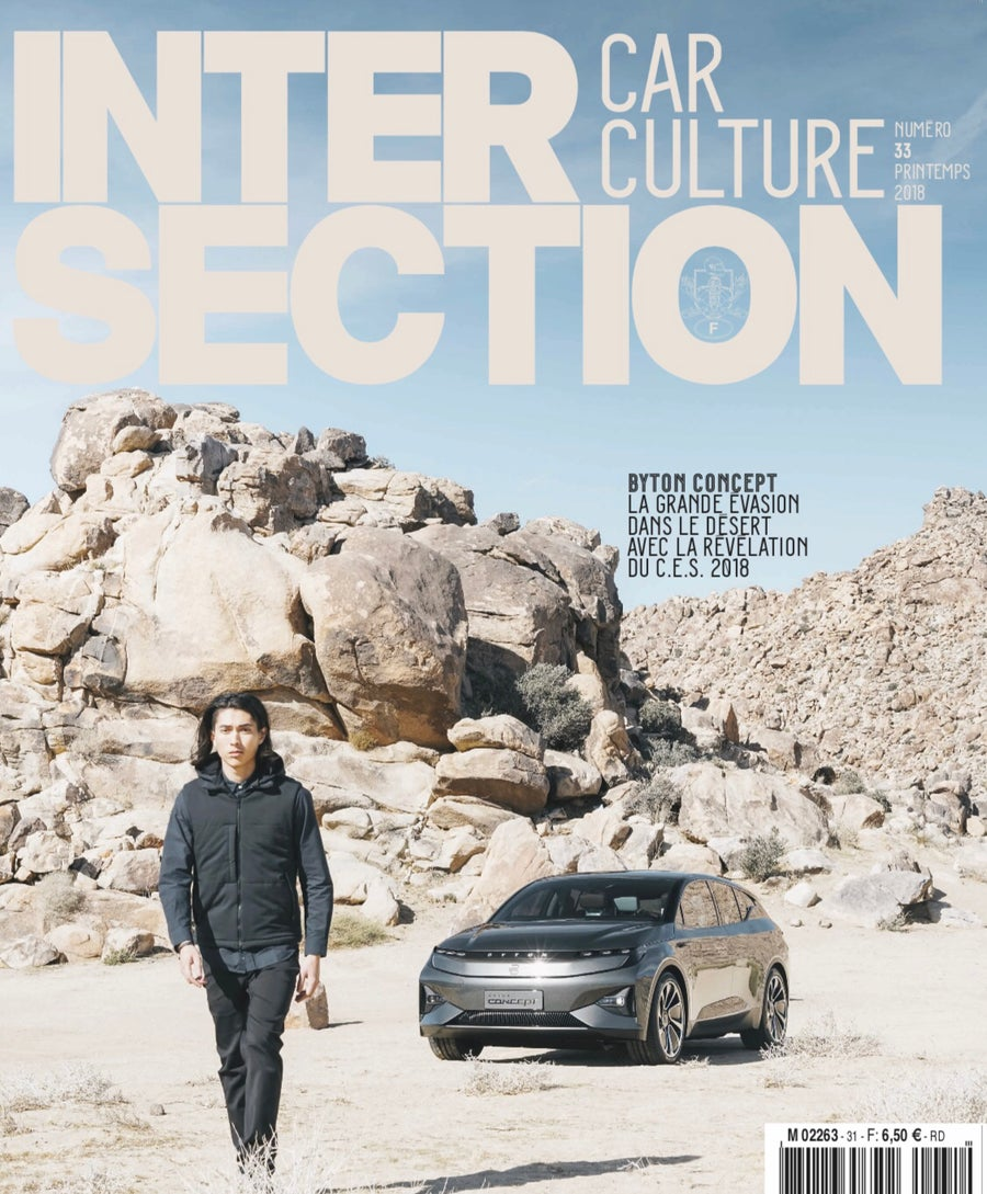 Image of Intersection - Exclusive  Cover w/ Byton Car