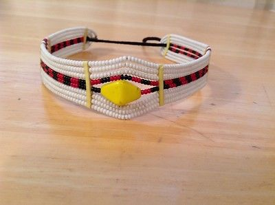 Image of Maasai red ocre choker