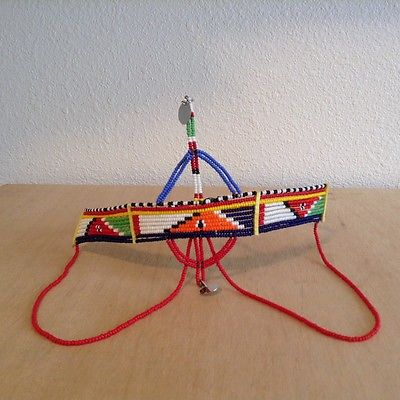 Image of Maasai tribal head crown