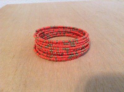 Image of Masai Coil Spring Bangle Bracelet