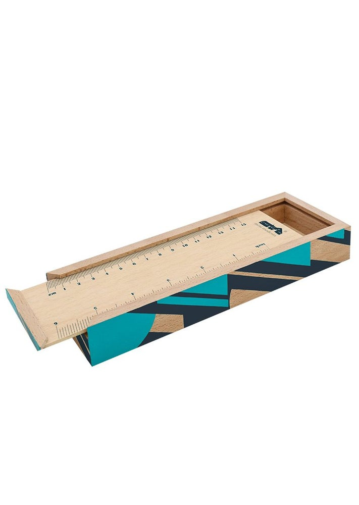 Image of Wooden Pencil Box