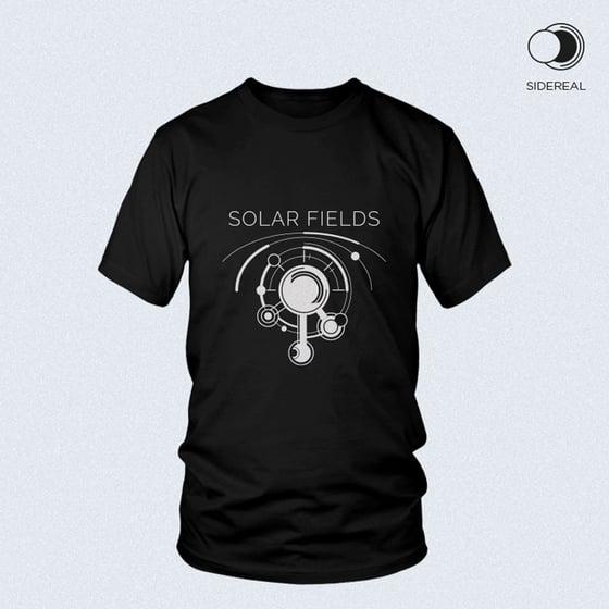 Image of Solar Fields 'logo' T-Shirt Black color