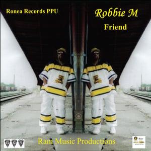 """Image of Robbie M """"Friend"""" CD"""