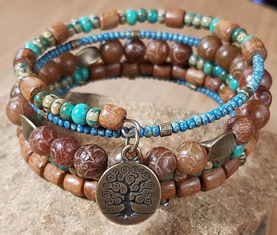 Image of Tree of Life Wrap Bracelet