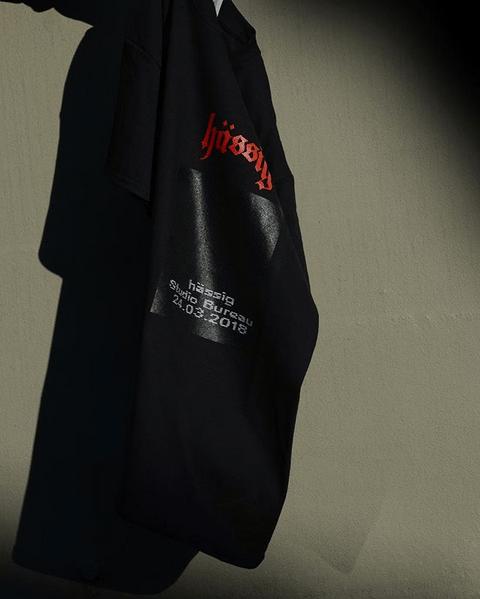 Image of hässig x studio bureau event shirt