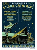 Image of Ohana Gathering Poster (Last show at Don the Beachcomber)