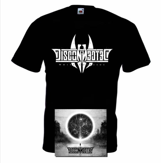 "Image of PACK CD + T-Shirt ""White Colossus"""