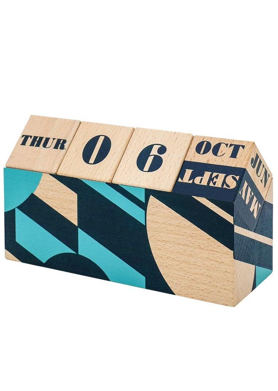 Mini Moderns Wooden Perpetual Calendar