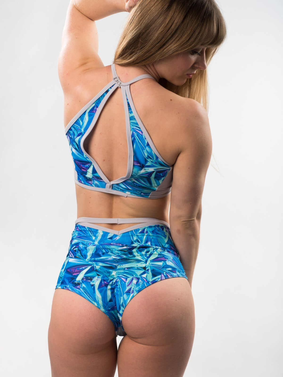 "Image of Holographic ""Valkyrie"" Shorts"