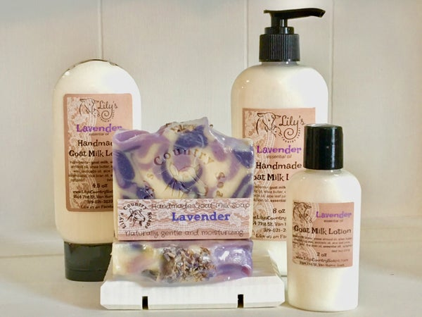 Image of Lavender Goat Milk Lotion
