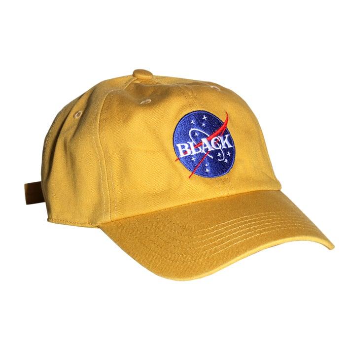 Image of Black Space Dad Hat
