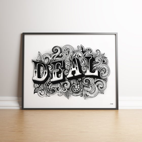 Image of Vintage Deal - Limited Edition hand-signed print