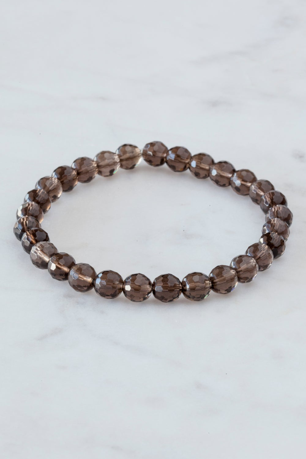 Image of Smoky Quartz Stacking Bracelet