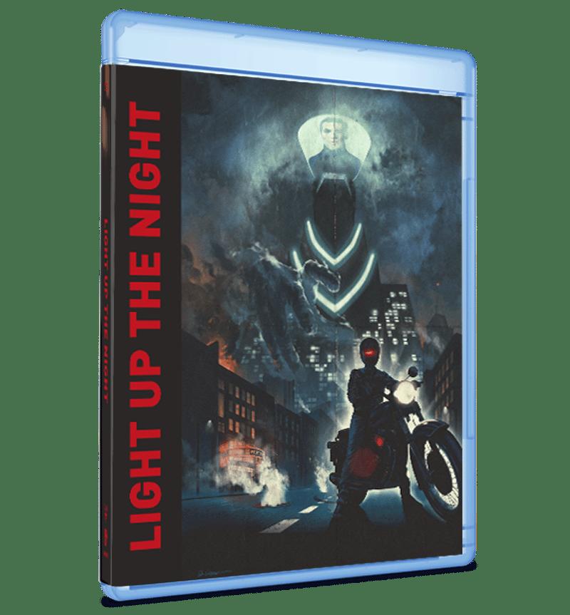 Sound Machine Records Light Up The Night Movie Blu Ray