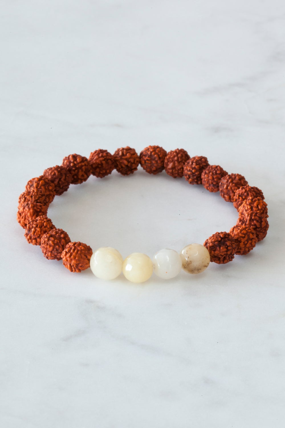 Image of Yellow Agate Wrist Mala