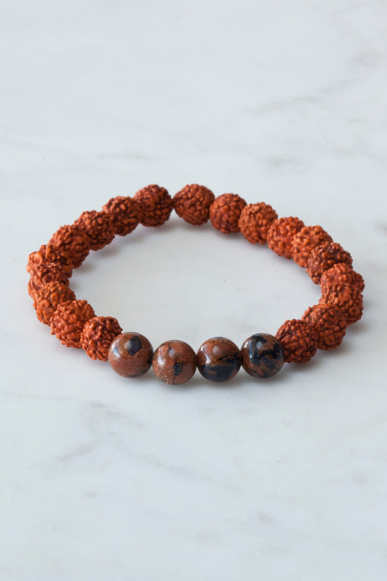 Image of Goldstone Wrist Mala