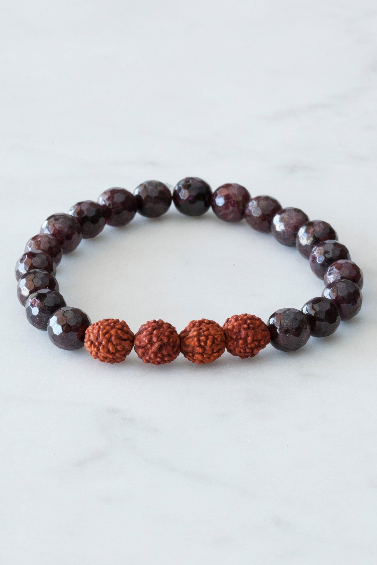Image of Garnet Bracelet