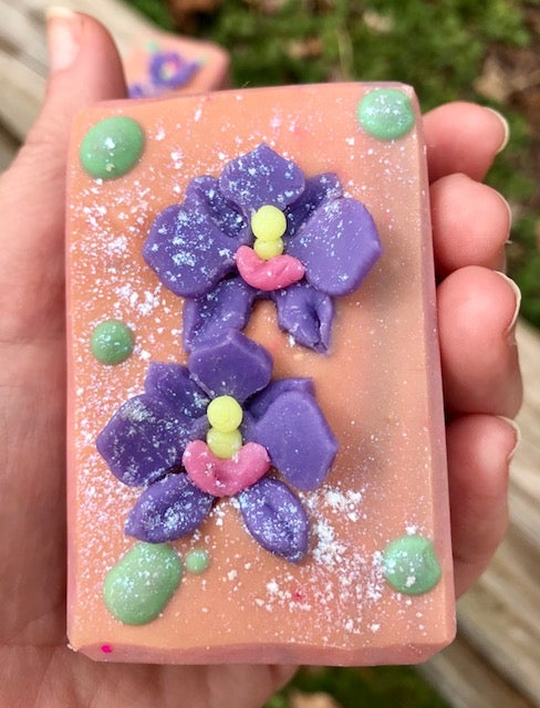 Image of Blushing Orchid Handcrafted Soap