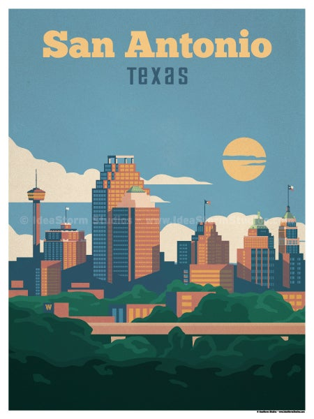Image of San Antonio Poster