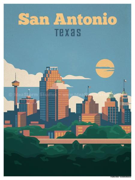 Image of San Antonio Poster