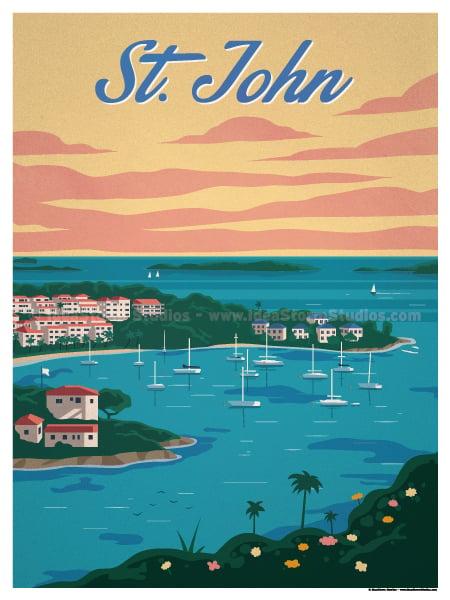 Image of Cruz Bay Poster