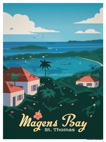 Image of Magens Bay Poster