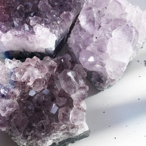 Image of Amethyst Slab - Palm Sized Specimen