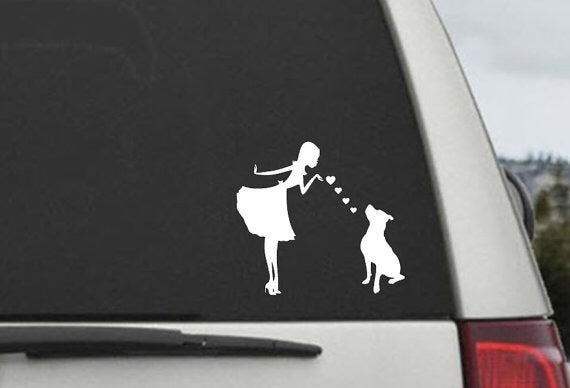 Image of Car Decal: Black or White