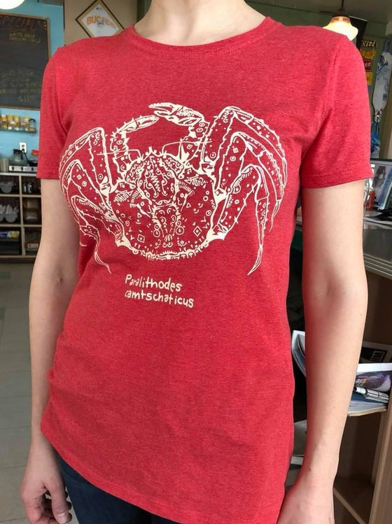Image of Red King Crab Tshirt or Hoodie