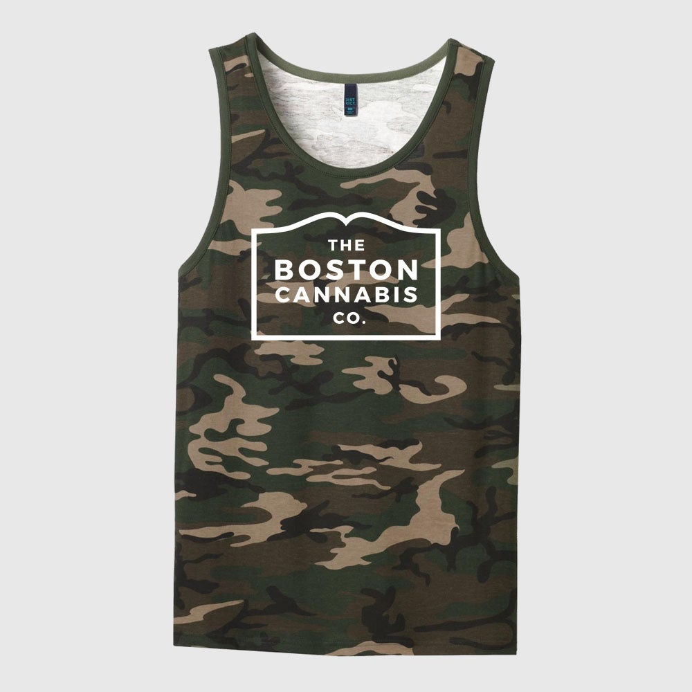 Image of Mens Camo Tank