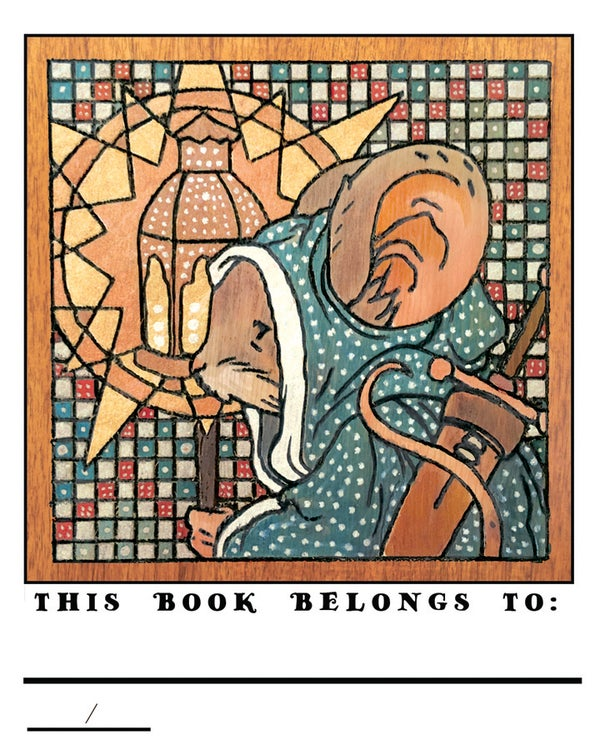 Image of Mouse Guard 2018 Bookplate