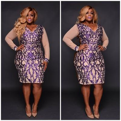 Purple Royalty - Plus Size Fashionz