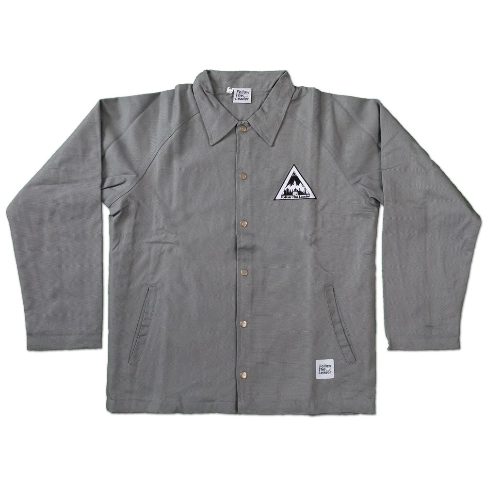 Image of NYC Scape Cotton Canvas Jacket (Charcoal)