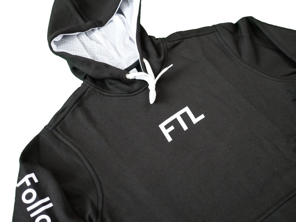 Image of FTL Classic Hooded Sweatshirt (Black)