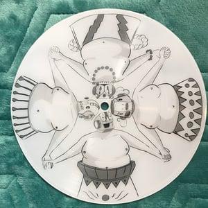 "Image of You Will Break / Sumo Princess 7"" - Joe Travis art"