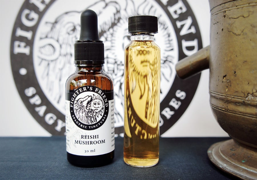 Image of REISHI MUSHROOM - Fighter's Friend spagyric tincture